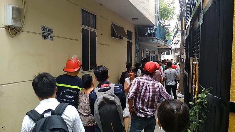 Cháy nhà dân vắng chủ ở Tân Phú - ảnh 2