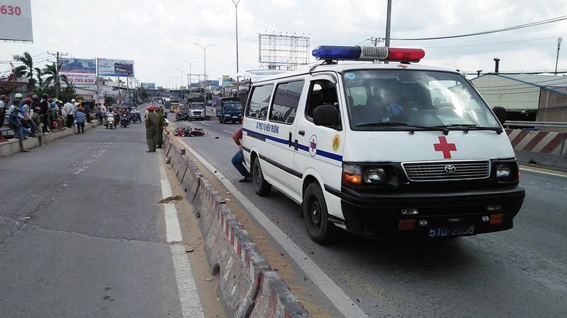 2 vụ xe cán chết người cách khoảng 100 m ở Bình Tân - ảnh 1