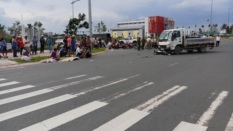 Liên tục 2 vụ tai nạn khiến 3 người chết ở quận 9 - ảnh 2