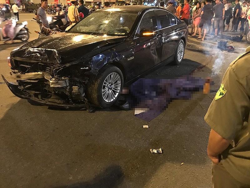Bắt giam nữ tài xế lái BMW gây tai nạn ở Hàng Xanh - ảnh 1