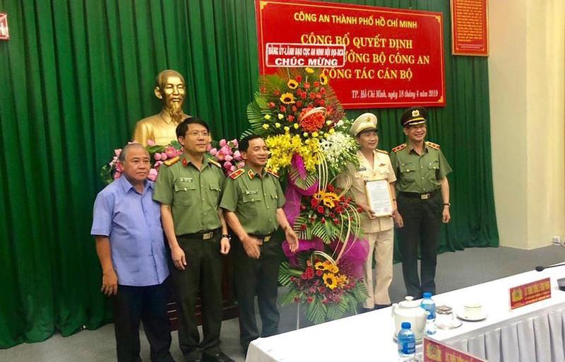 Đại tá Nguyễn Sỹ Quang làm Phó Giám đốc Công an TP.HCM - ảnh 1