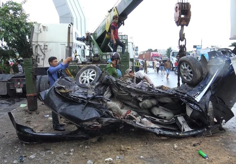 Tai nạn thảm khốc Tây Ninh: Tài xế xe ô tô tránh không kịp - ảnh 14