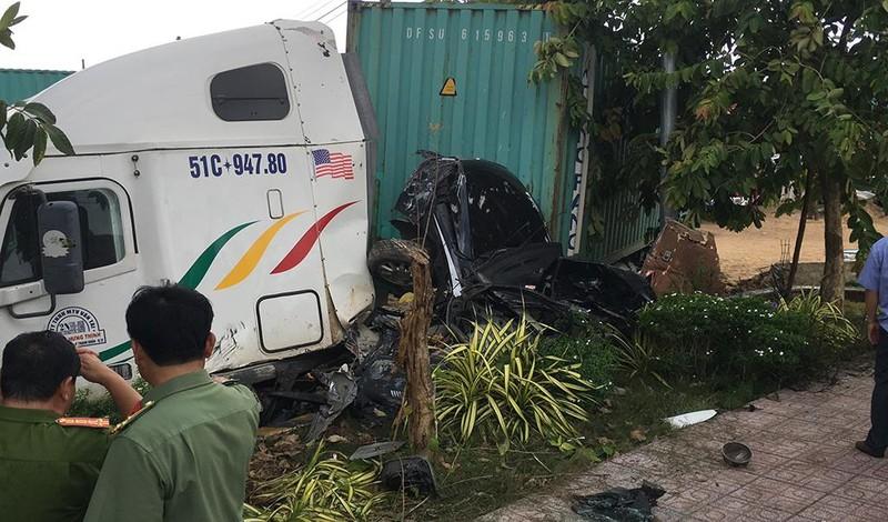 Tai nạn thảm khốc Tây Ninh: Tài xế xe ô tô tránh không kịp - ảnh 12