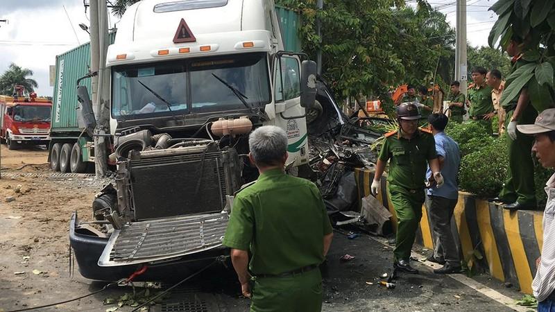 Tai nạn thảm khốc Tây Ninh: Tài xế xe ô tô tránh không kịp - ảnh 6