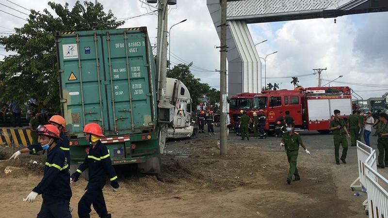Tai nạn thảm khốc Tây Ninh: Tài xế xe ô tô tránh không kịp - ảnh 7