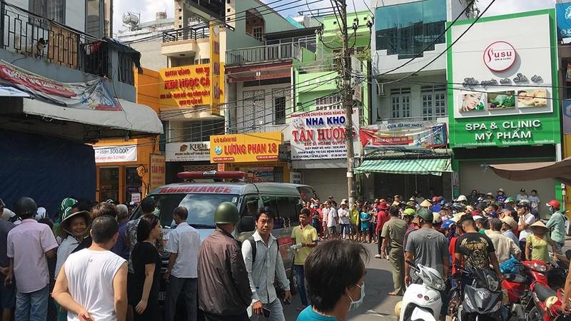 Điều tra vụ tài xế bỏ đi sau va chạm đôi nam nữ ở Tân Phú - ảnh 2