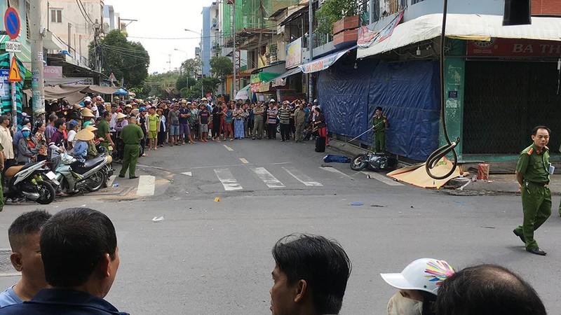 Điều tra vụ tài xế bỏ đi sau va chạm đôi nam nữ ở Tân Phú - ảnh 1