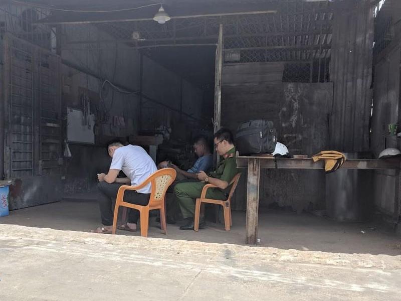 Một công nhân tử vong tại xưởng cơ khí ở Bình Tân - ảnh 1