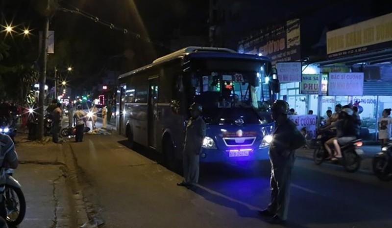 Va chạm xe buýt, thanh niên tử vong ở Gò Vấp - ảnh 2