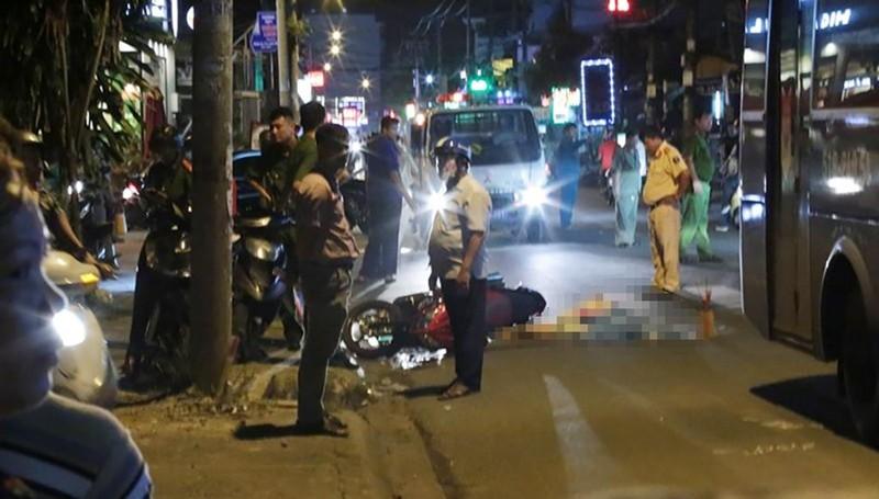 Va chạm xe buýt, thanh niên tử vong ở Gò Vấp - ảnh 1