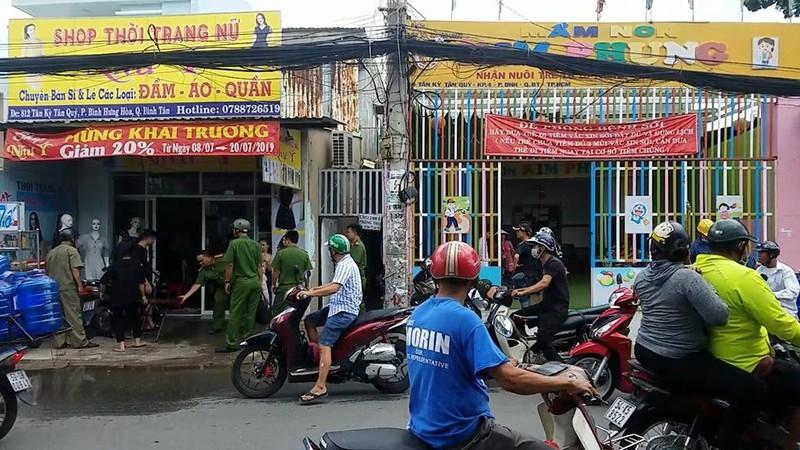 Bình Tân: Cháy gần điểm giữ trẻ, cả khu vực náo loạn - ảnh 1