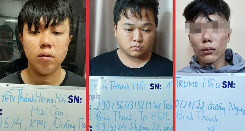 TP.HCM: Phá băng nhóm giả gái bán dâm trộm cắp của Hải bake - ảnh 3