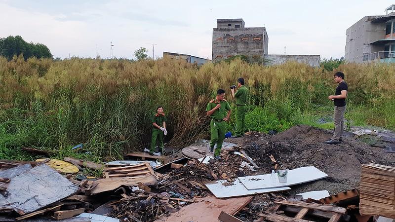 Bộ Công an bắt quả tang một công ty ở TP.HCM xả thải ra sông - ảnh 2