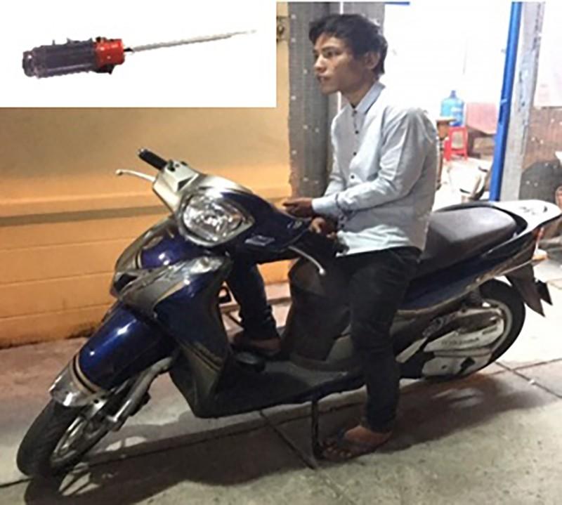 Dùng tuốc nơ vít cướp xe SH ở Tân Bình - ảnh 1