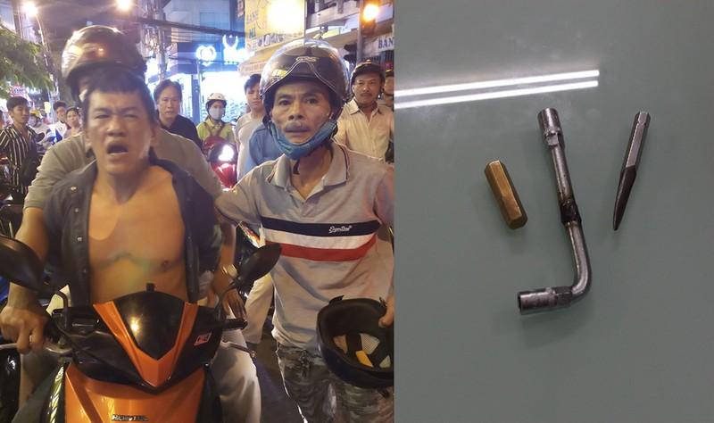 'Hiệp sĩ Tân Bình' bắt tên trộm xe có ba tiền án - ảnh 1