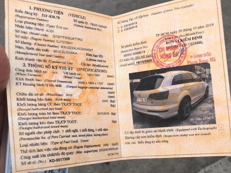 Xác minh 2 xe Audi trùng biển số ở Đồng Nai - ảnh 2