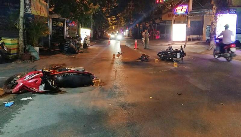 Nghi trộm chó phóng xe vào người đi đường ở Bình Tân - ảnh 1