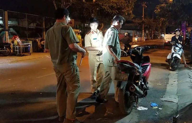 Nghi trộm chó phóng xe vào người đi đường ở Bình Tân - ảnh 2