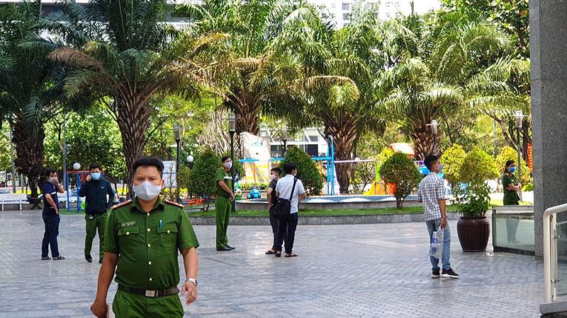 Xuất hiện đoạn camera, nhân chứng vụ ông Bùi Quang Tín rơi lầu - ảnh 1
