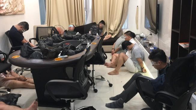 1 người Hàn Quốc thuê biệt thự ở Thảo Điền tổ chức đánh bạc - ảnh 1
