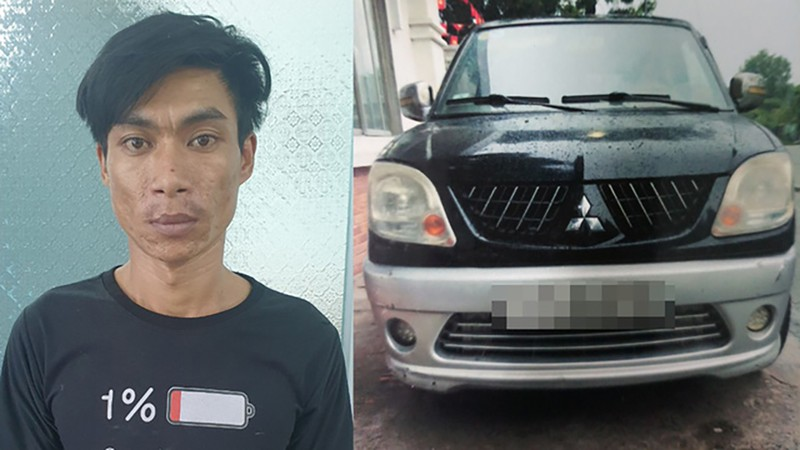 Đang sửa chiếc ô tô vừa trộm ở Bình Tân thì công an tới - ảnh 1