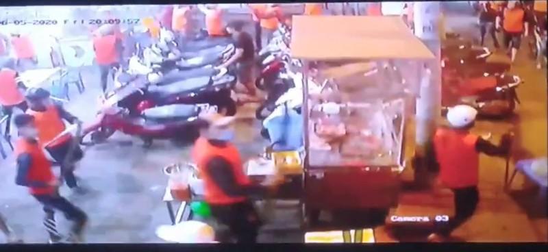 Công an truy tìm Trí 'nhảm' trong nhóm 200 giang hồ áo cam  - ảnh 2