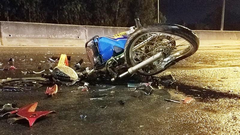 Bình Tân: Nghi 2 xe máy 'đấu đầu', 1 người chết - ảnh 2