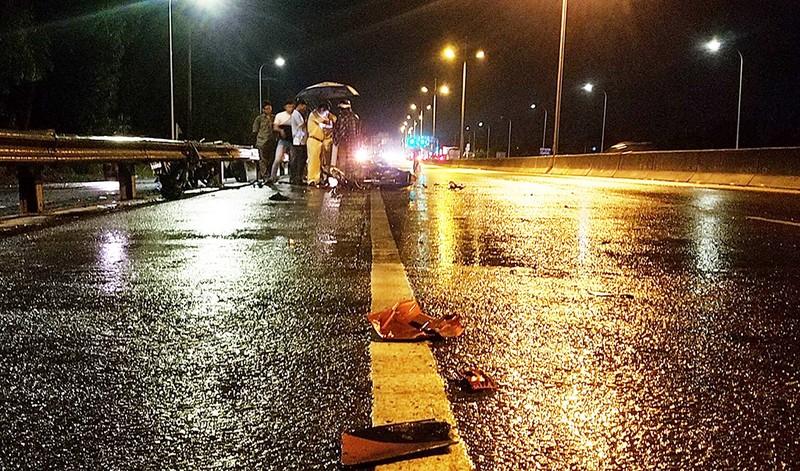 Bình Tân: Nghi 2 xe máy 'đấu đầu', 1 người chết - ảnh 1