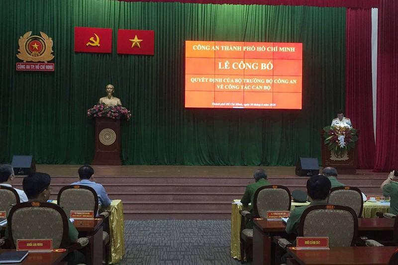 Đại tá Lê Hồng Nam chính thức làm Giám đốc Công an TP.HCM  - ảnh 2