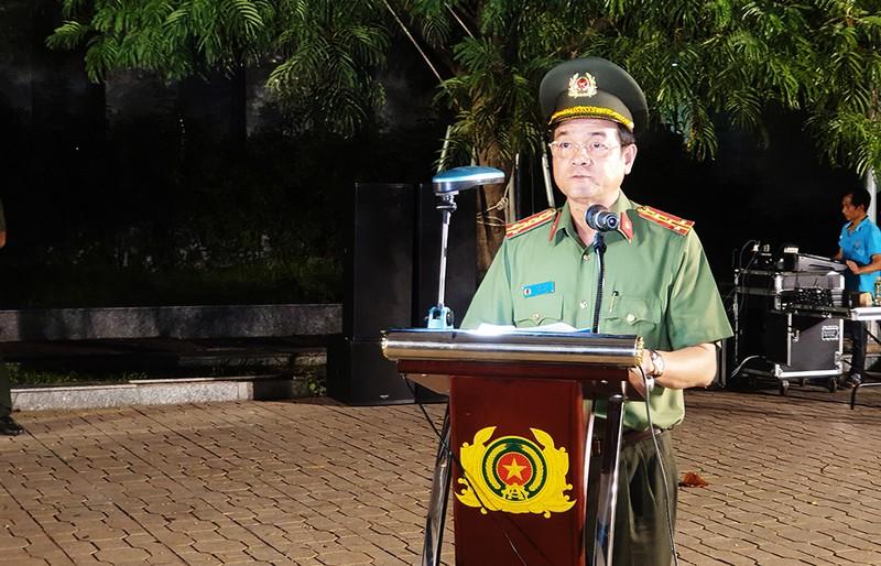 Giám đốc Công an TP.HCM nói về lễ ra quân trấn áp tội phạm - ảnh 2