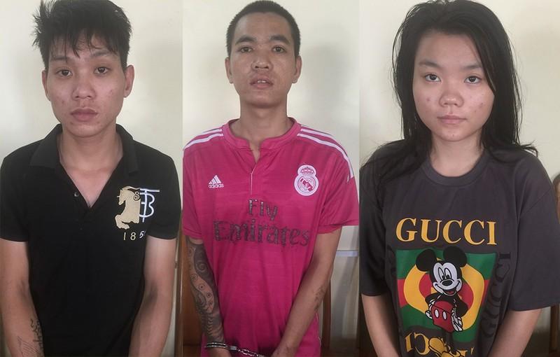 Nhóm nghiện trộm xe liên quận ở TP.HCM bị bắt - ảnh 1