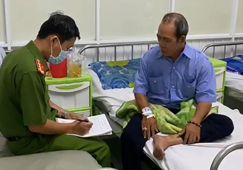 Tình tiết bất ngờ vụ bảo vệ bị chém nhập viện ở Bình Tân - ảnh 2