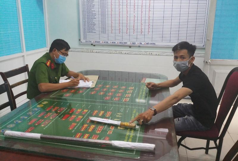 Tình tiết bất ngờ vụ bảo vệ bị chém nhập viện ở Bình Tân - ảnh 1
