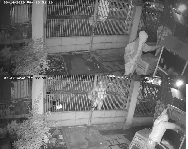Vừa đuổi bắt trộm xong thì chủ nhà bị ném gạch 'trả thù' - ảnh 1