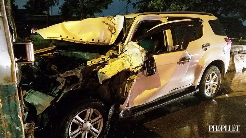 Bình Tân: Ô tô tông nhiều xe chờ đèn đỏ, nhiều người bị thương - ảnh 2