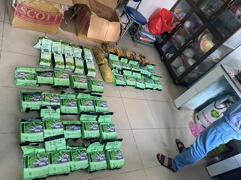 Thu gần 50 kg ma túy trong nhà của nhóm tội phạm ở Gò Vấp - ảnh 1