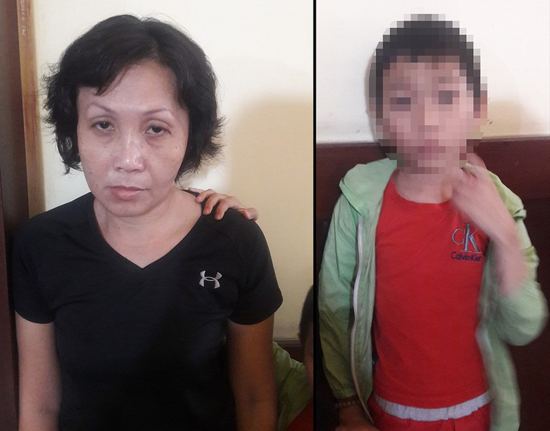 Bắt người phụ nữ đưa trẻ em đi trộm tiền ở quận 3 - ảnh 1