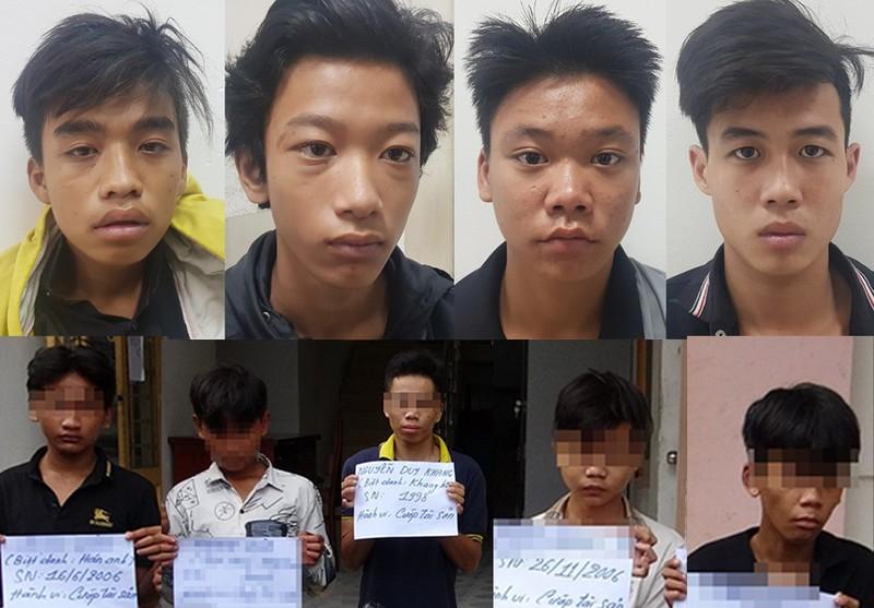 Lời khai nhóm 13 đến 16 tuổi chém người cướp xe ở Bình Tân - ảnh 1