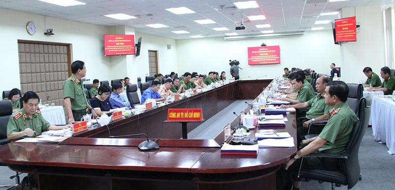 Công an TP.HCM thảo luận, góp ý các dự án Luật - ảnh 1