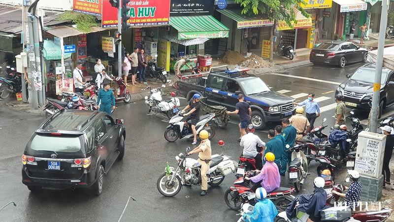 Công an thông tin 1 Chi nhánh ngân hàng ở Tân Phú bị cướp - ảnh 2