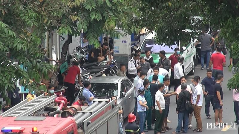 Công an thông tin 1 Chi nhánh ngân hàng ở Tân Phú bị cướp - ảnh 1