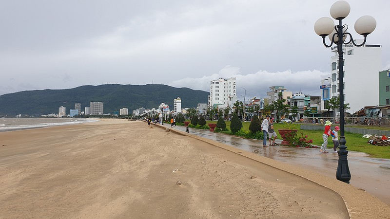 Cảnh tan hoang sau bão số 9 ở TP Quy Nhơn, Bình Định - ảnh 11