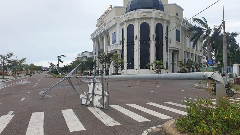 Cảnh tan hoang sau bão số 9 ở TP Quy Nhơn, Bình Định - ảnh 6