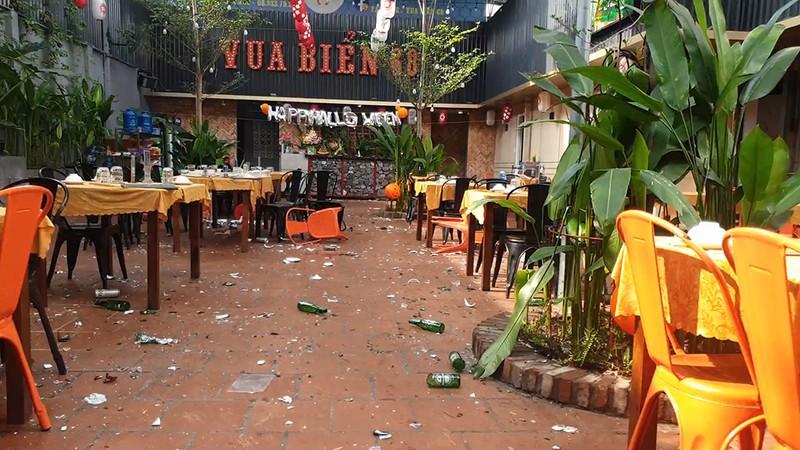 Hỗn chiến như phim tại quán nhậu ở quận Tân Phú - ảnh 2