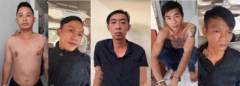 5 thành viên nhóm trộm xe bị bắt sau 15 giờ truy xét - ảnh 1