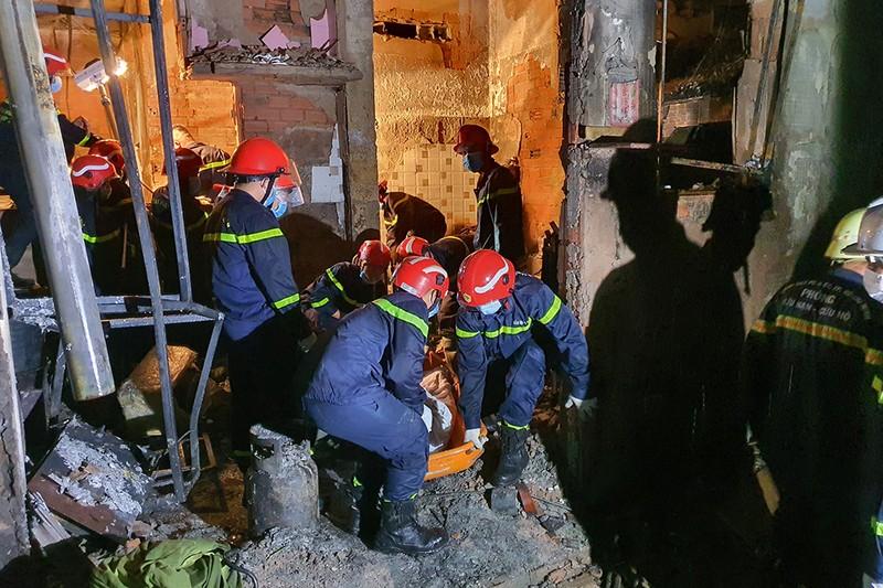 Danh tính cô giáo tử vong trong vụ cháy 8 người chết ở quận 11 - ảnh 1