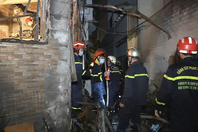 Phòng Cảnh sát PCCC báo cáo về vụ cháy nghiêm trọng ở quận 11 - ảnh 1