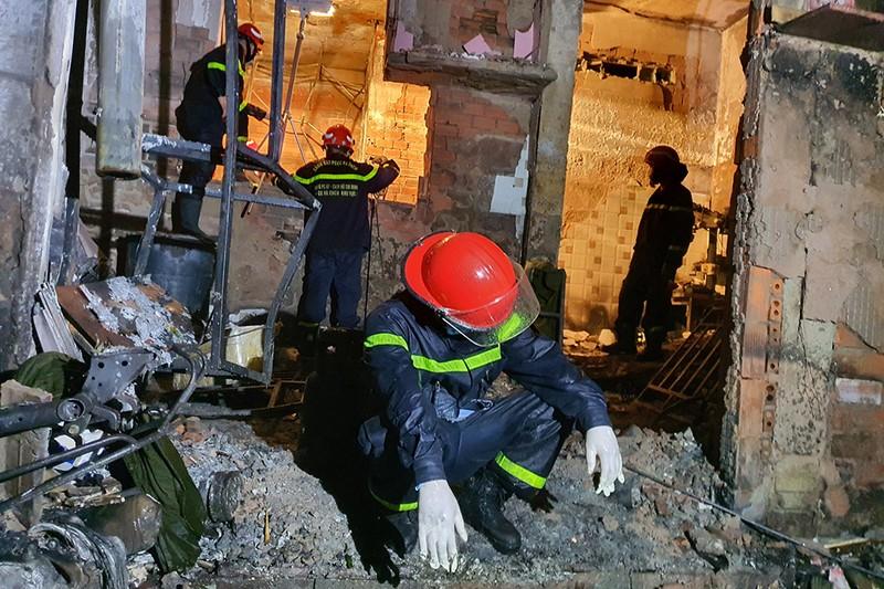 Phòng Cảnh sát PCCC báo cáo về vụ cháy nghiêm trọng ở quận 11 - ảnh 3