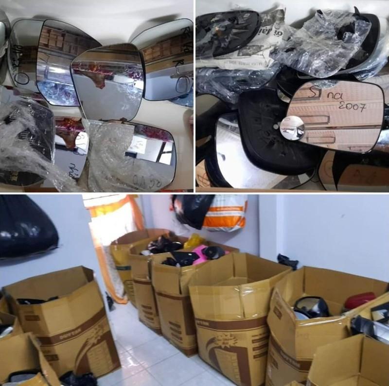 Cặp vợ chồng hờ gom hàng ngàn kính ô tô trộm cắp ở TP.HCM - ảnh 2