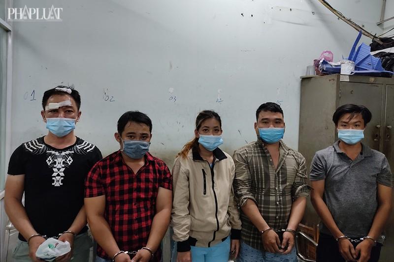 2 thanh niên chích điện cướp xe của cô gái ở Khu công nghiệp Vĩnh Lộc - ảnh 1